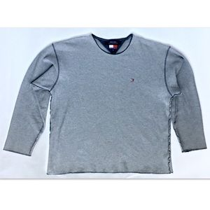 Tommy Hilfiger Long Sleeve Gray Sweater